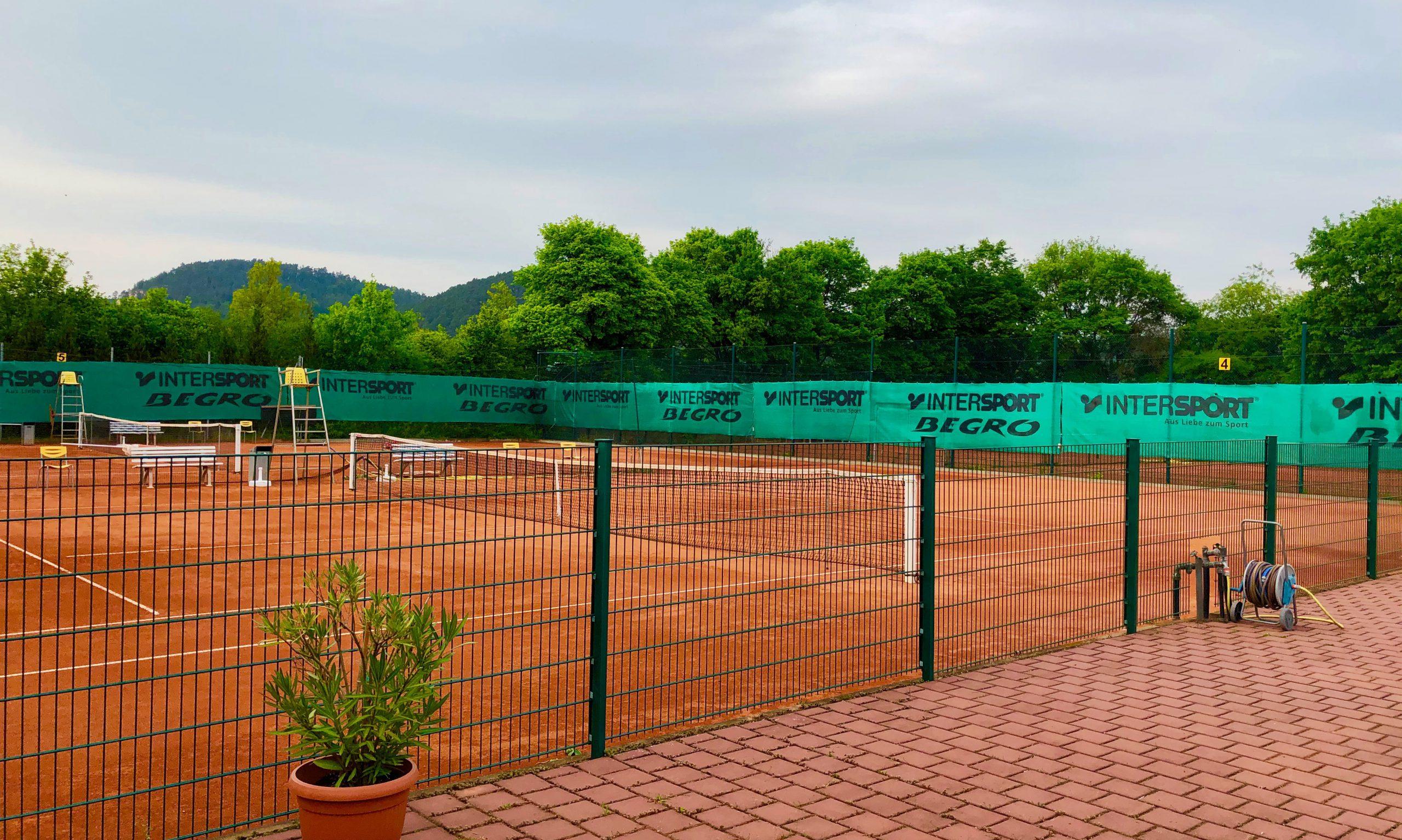 Tennisplätze werden ab 09.05. unter Auflagen geöffnet.