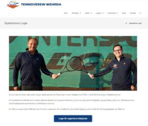 Jetzt Neu: TV Wehrda Spielerbörse